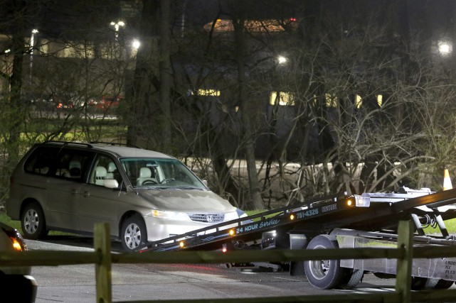 La Honda Odyssey dans laquelleKyle Plush a trouvé... (AP)