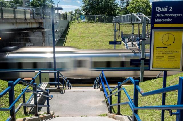 Доступ в центр города поездам пригородного сообщения Deux-Montagnes и Mascouche будет закрыт на 2 года