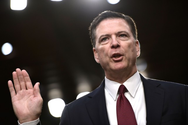 James Comey... (Photo Brendan Smialowski, archives Agence France-Presse)