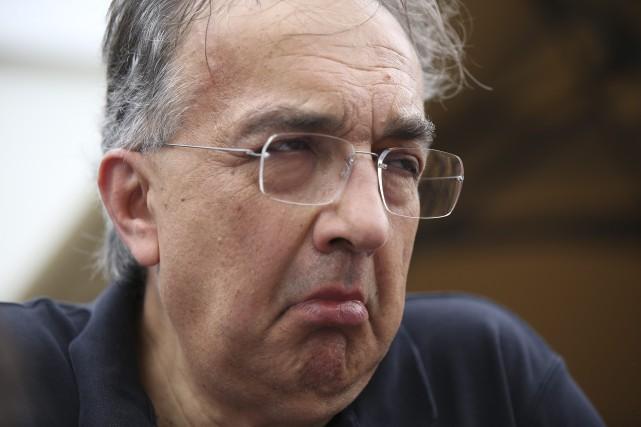Sergio Marchionne n'aime pas l'évolution de la Formule... (photo AP)