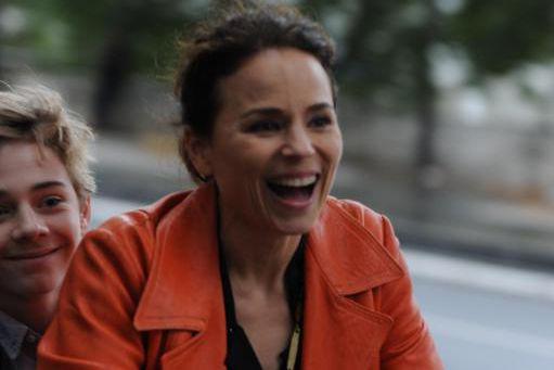 Suzanne Clément dans Le rire de ma mère,... (Photo fournie par La Belle Company)