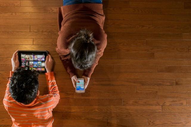 La gestion de la technologie en famille n'a... (Photo Martin Tremblay, Archives La Presse)