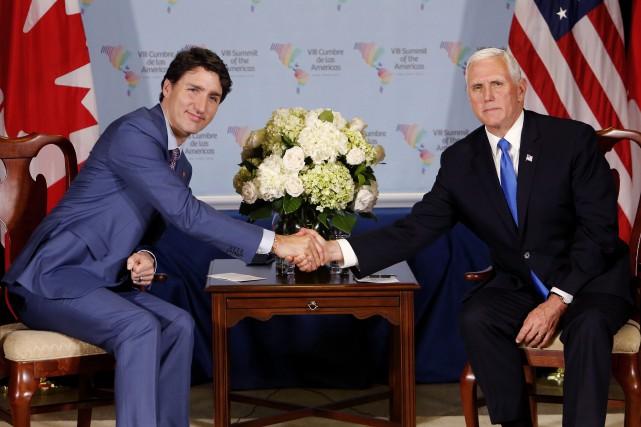 Mike pence remercie le canada pour son appui de l for Annonceur maison du canadien