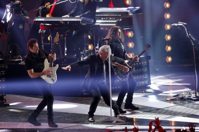 Jon Bon Jovi recevra le prestigieux honneur en... (PHOTO Bon Jovi, ARCHIVES REUTERS)