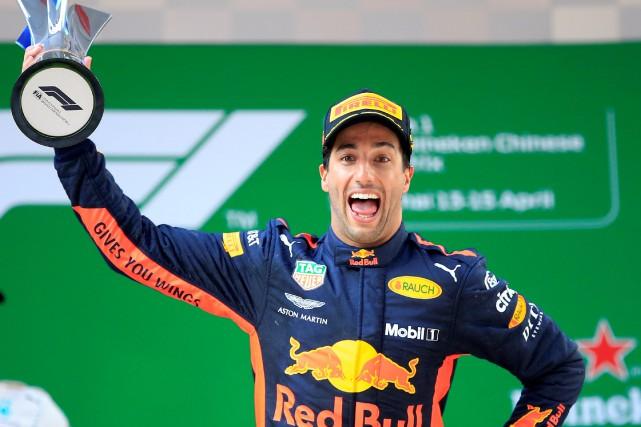 Daniel Ricciardo... (Photo Aly Song, REUTERS)