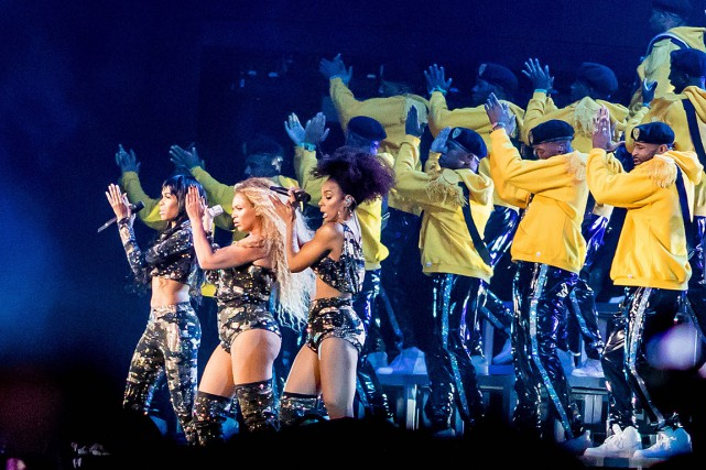 Beyoncé avait invité Kelly Rowland et Michelle Williams,... (PHOTO KYLE GRILLOT, AGENCE FRANCE-PRESSE)