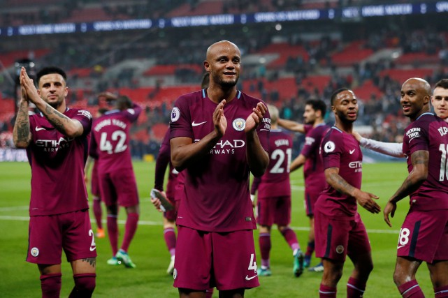 Manchester City a remporté le championnat de la Premier League de soccer sans... (PHOTO REUTERS)