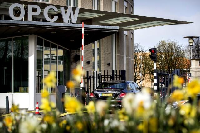 Le siège de l'OIAC à La Haye.... (Photo Agence France-Presse)