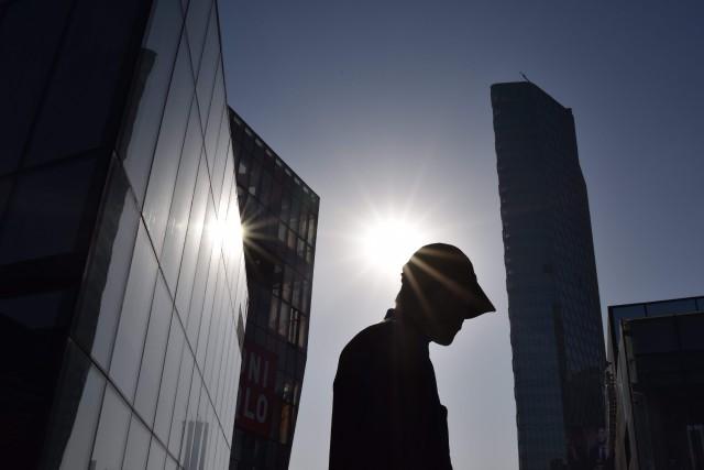 Environ 900000étrangers étaient présents en Chine en 2017,... (Photo GREG BAKER, archives Agence France-Presse)