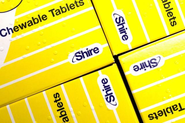 «Nous allons reprendre quelque 150salariés de Shire, dont... (Photo Suzanne Plunkett, archives REUTERS)