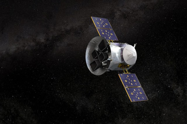 Le Transiting Exoplanet Survey Satellite (TESS), qui sera... (Image fournie par la NASA)
