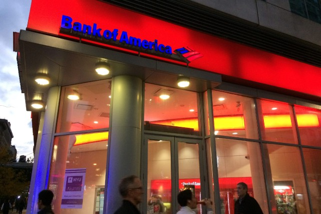 Bank of America attribue notamment sa performance à... (Photo Mark Lennihan, archives Associated Press)