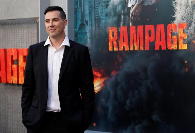 Le réalisateur du film Rampage, Brad Peyton, rêvait... (PhotoMario Anzuoni, Reuters)
