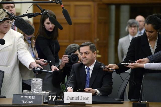 Le conseiller à la sécurité nationale Daniel Jean... (Photo Justin Tang, PC)