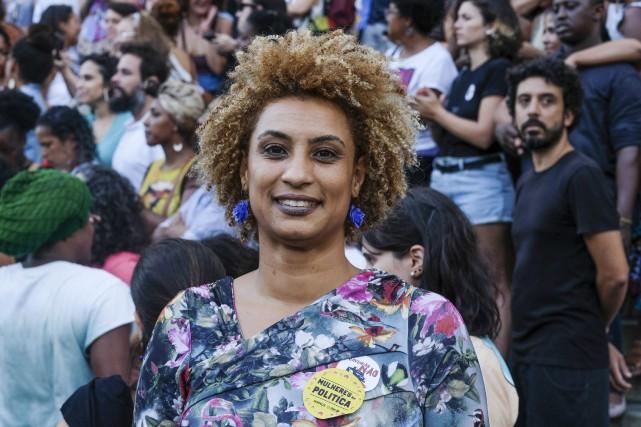 Marielle Franco... (AP)