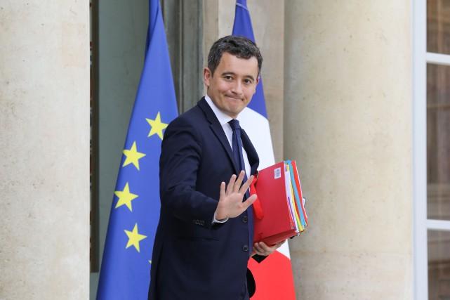 Gerald Darmanin... (PHOTO AFP)