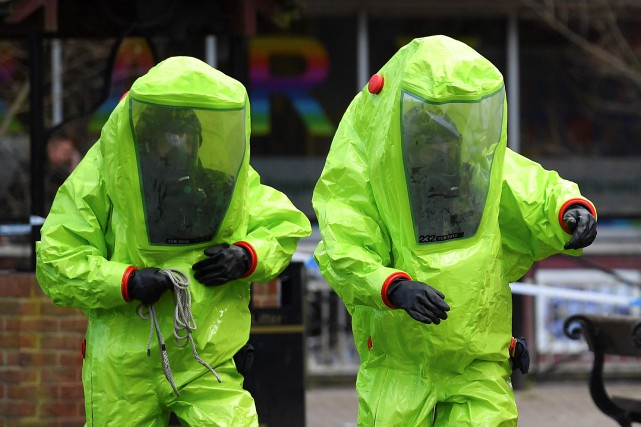 Selon les autorités britanniques, l'agent neuroparalytique utilisé contre... (PHOTO AFP)