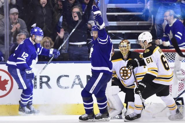 Embarrassés et déçus après avoir été écrasés par les Bruins de Boston, les... (PHOTO PC)