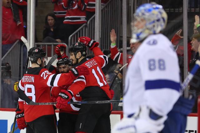 Alors que la première présence en séries des Devils depuis 2012 paraissait de... (PHOTO REUTERS)