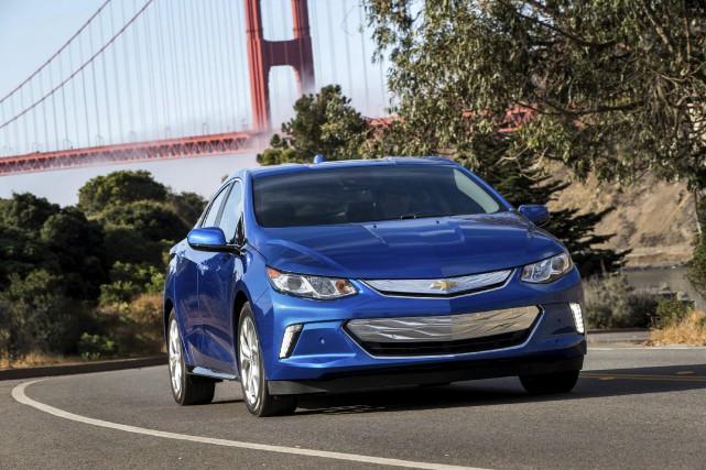 La Chevrolet Volt est assemblée à Détroit.... (photo Chevrolet)