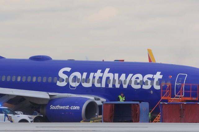 Le vol 1380 avait décollé de l'aéroport La... (PHOTO REUTERS)