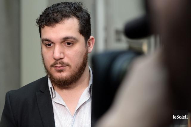 Amir Belkacemi, dont le père a été abattu... (Photo Erick Labbé, Le Soleil)