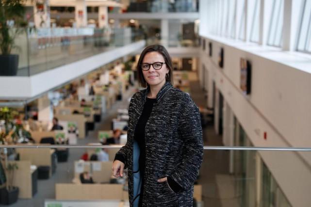 Dominique Bazay, une Québécoise qui a déjà dirigé... (Photo Martin Chamberland, La Presse)