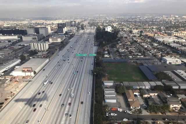 L'agglomération de Los Angeles est la plus polluée... (photo AFP)
