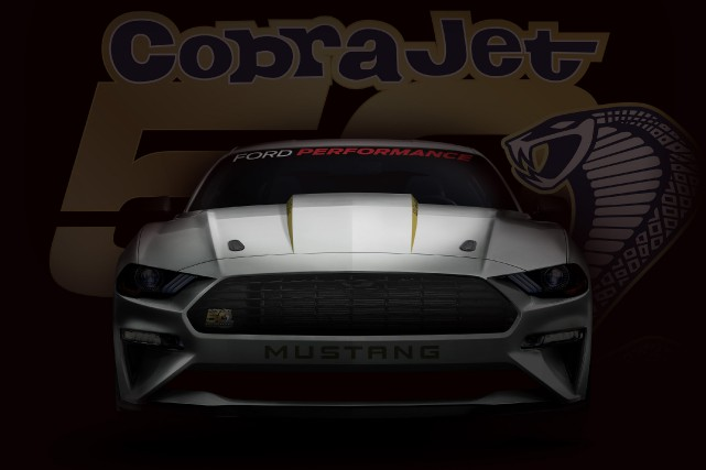 La Mustang Cobra Jet 2018 pourra atteindre 240... (Photo Ford)