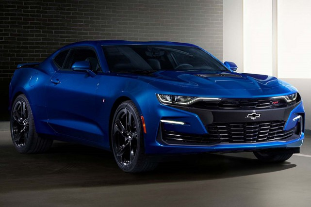 La Chevrolet Camaro 2019.... (photo Chevrolet)