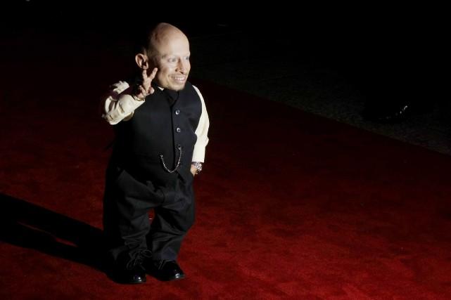 L'acteur, qui mesurait 81 cm, avait acquis une... (archives AP)