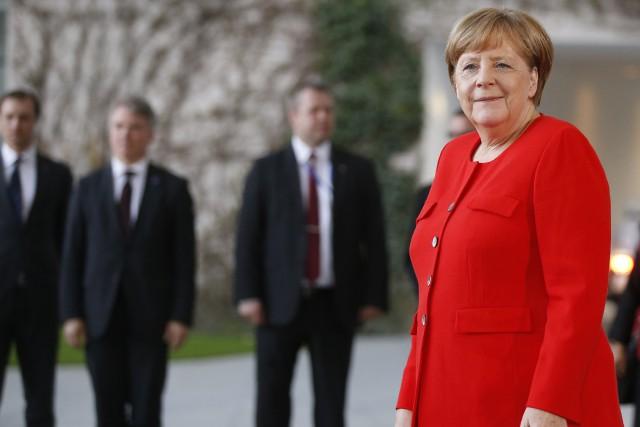 Ces propos de la chancelière allemande ont été... (PHOTO REUTERS)