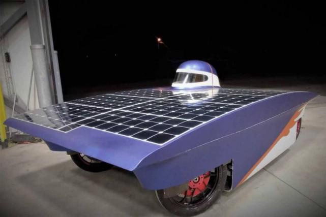 Une nouvelle voiture solaire à Polytechnique