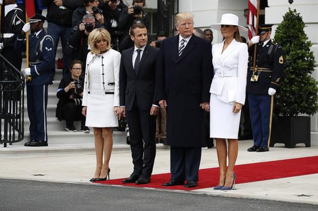 nouvel ordre mondial | Mardi sonne l'heure de vérité pour l'amitié Macron-Trump