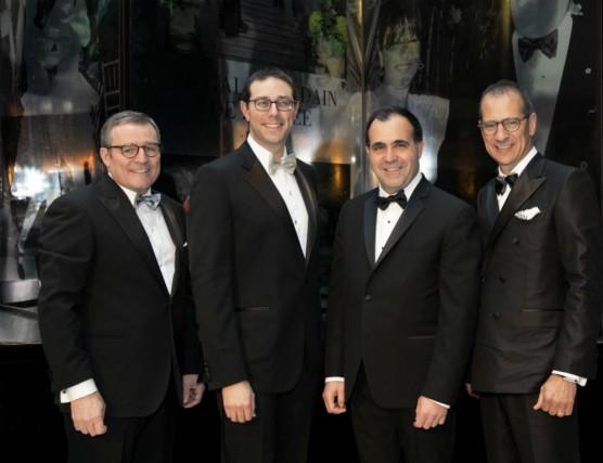 Mario Plourde, Stuart M. Elman, Alfredo A. Barrios... (Photo fournie par le Bal)