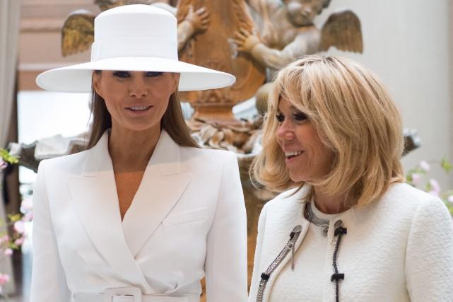 nouvel ordre mondial | Brigitte Macron et Melania Trump, amies malgré des tempéraments opposés