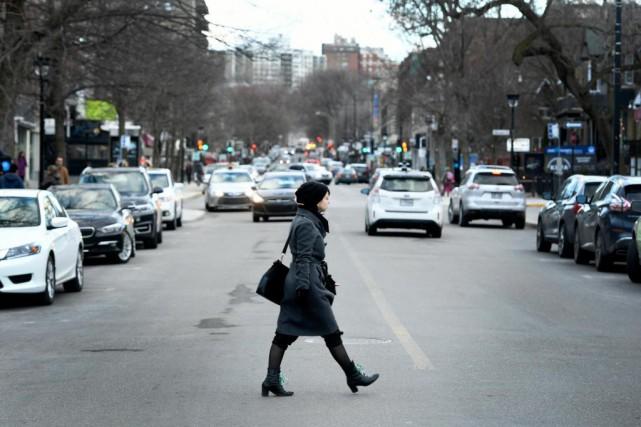L'avenue de Monkland est l'une des deux artères... (Photo Bernard Brault, La Presse)