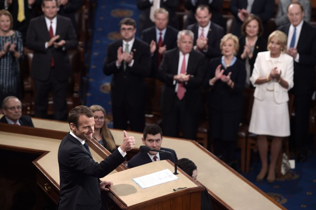 nouvel ordre mondial | Macron au Congrès américain:«il n'y a pas de planète B»