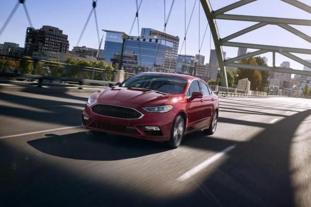 La Ford Fusion... (Photo fournie par Ford)