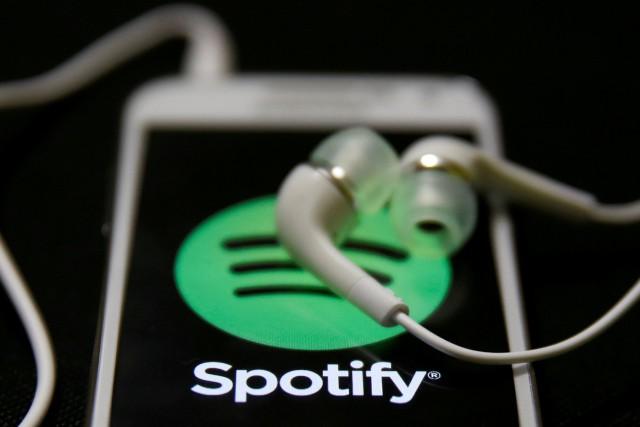 Le suédois Spotify se détache largement du lot... (PHOTO ARCHIVES REUTERS)