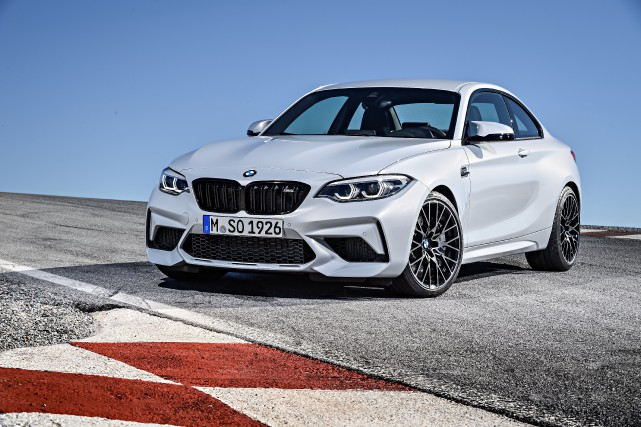 La BMW M2 Competition... (Photo fournie par BMW)