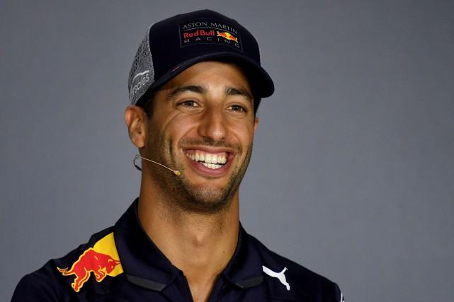 Daniel Ricciardo... (Photo Andrej Isakovic, Agence France-Presse)