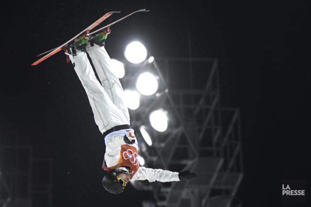Olivier Rochona terminé cinquième à l'épreuve des sauts... (Photo Bernard Brault, La Presse)