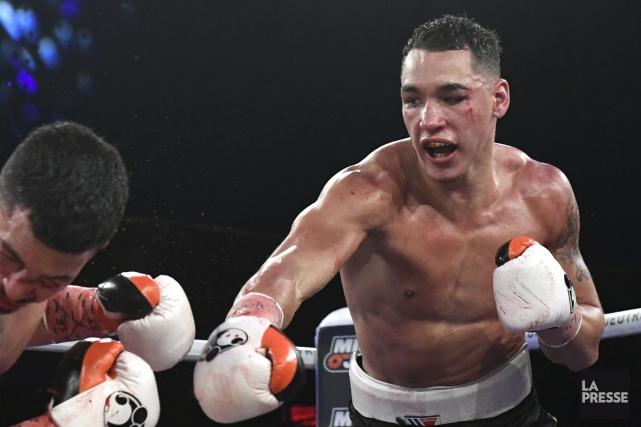 Le boxeur montréalais Steven Butler.... (Photo Bernard Brault, archives La Presse)