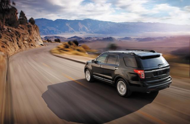Le Ford Explorer peut haler votre remorque de... (Photo Ford)