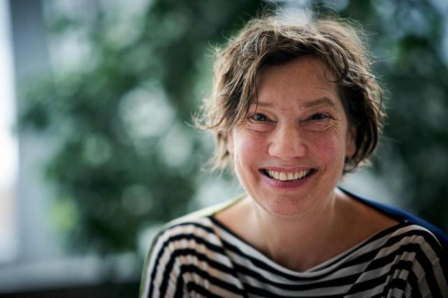 Au cours des années 90, la photographe Caroline... (Photo André Pichette, La Presse)