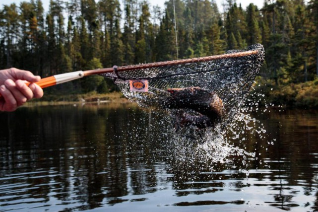 Pêche à la truite à la pourvoirie Nemiskau,... (Photo Hugo-Sébastien Aubert, La Presse)