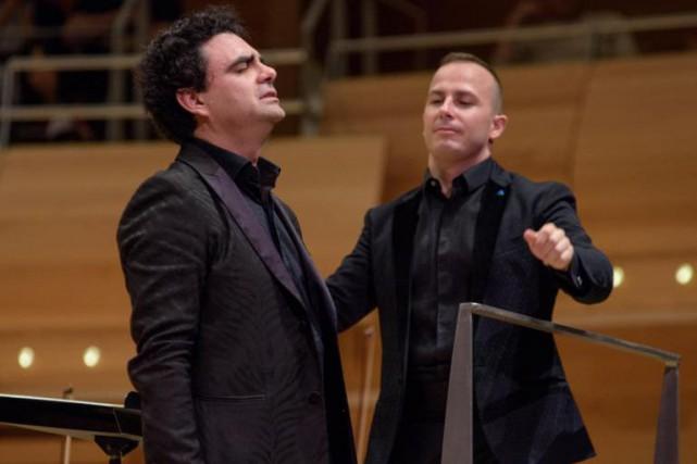 Rolando Villazón et Yannick-Nézet Séguin... (photo fournie par l'OM)