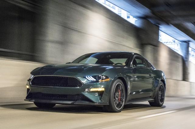 La Ford Mustang sera la seule voiture offerte... (PHOTO FOURNIE PAR LE CONSTRUCTEUR)
