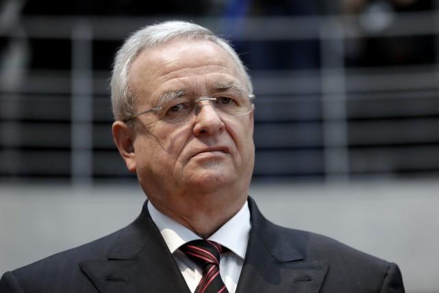 Martin Winterkorn, l'ancien PDG du Groupe Volkswagen vient... (photo d'archives AP)